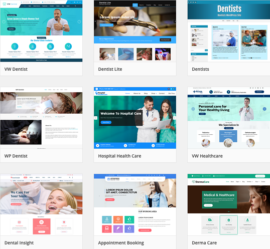 Dental Website Designs