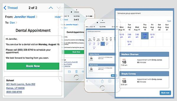 Dentrix Ascend software screenshot