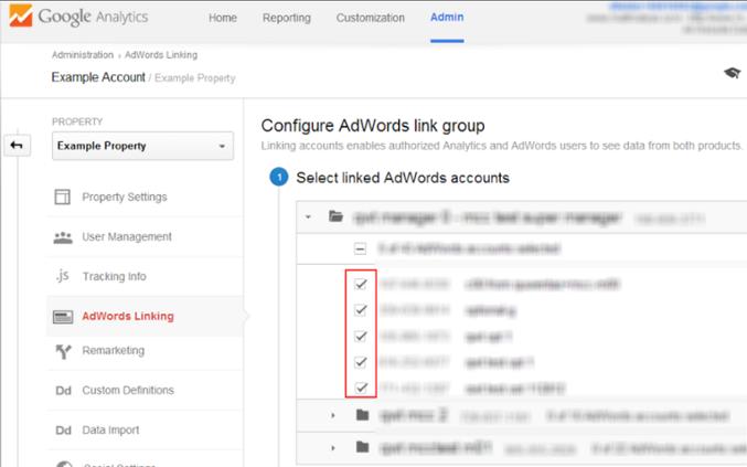 picking keywords in google analytics