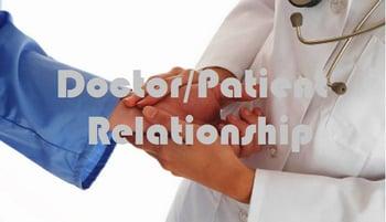 doctor/patient relationship