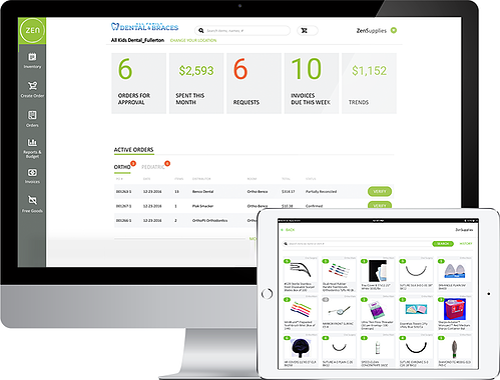 Image: Zensupplies Dental Inventory Management Software Programs