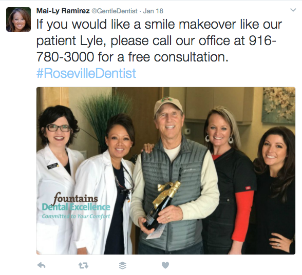 advertise your dental deals and discounts using social media