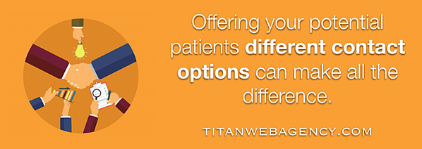 multiple contact options can make all the difference