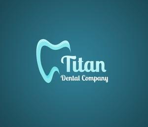 dental office logo samples gradient background