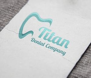 dental practice logo samples white background
