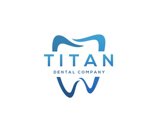 dental office logo sample blues