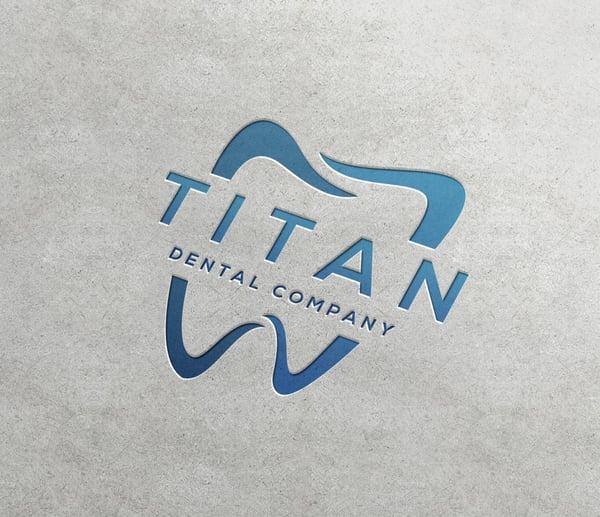dental business card logo samples print