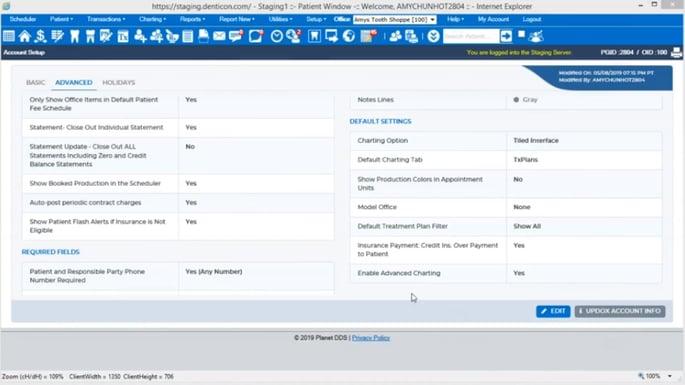 denticon software screenshot