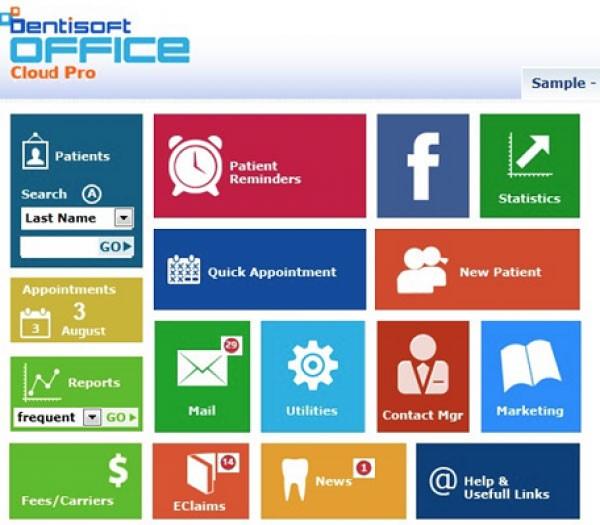 dentisoft software screenshot