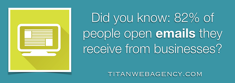 people are more likely to open emails that they receive from businesses