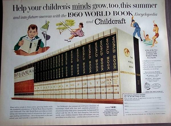 encyclopedia sales