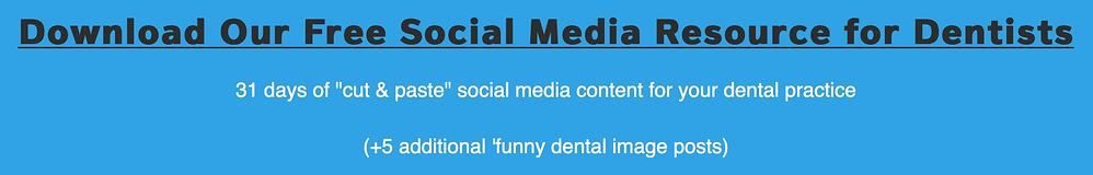 Social Media For Dentists Templates and Resources