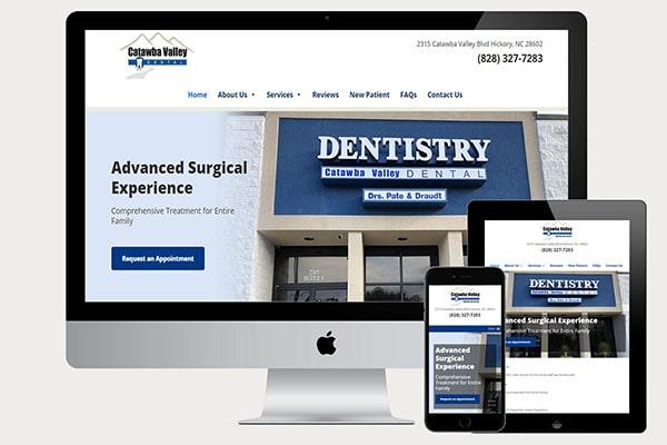 catawba-dental website