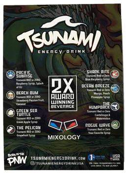tsunami drink